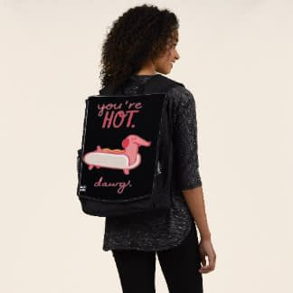 you are hotdwag backpack